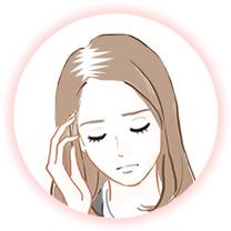 ひこう性脱毛症例