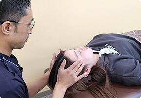 自律神経調整の施術